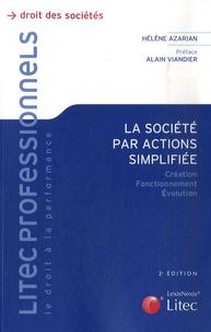Hélène Azarian - La société par actions simplifiée.