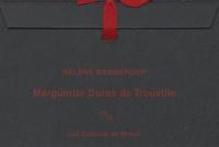 Hélène Bamberger - Marguerite Duras de Trouville.