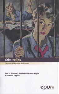 Deedr.fr Criminelles - Le crime à l'épreuve du féminin Image