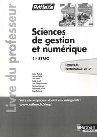 Hélène Berland et Christine Darlay - Sciences de gestion et numérique 1re STMG Réflexe - Livre du professeur.