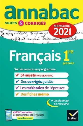 Annales du bac Annabac 2021 Français 1re générale - 9782401074347 - 5,49 €