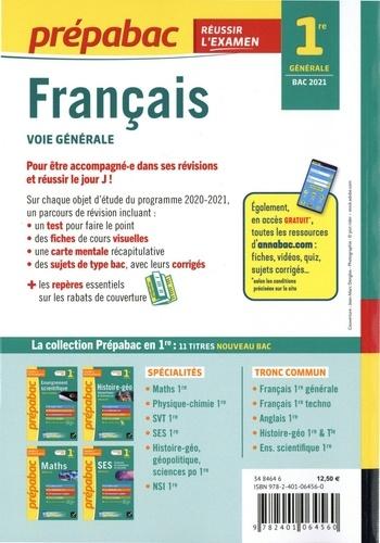 Français 1re générale  Edition 2021