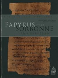 Hélène Cadell et Willy Clarysse - Papyrus de la Sorbonne - (P.Sorb. III n° 70-144). 1 Cédérom