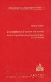 Hélène Carles - L'émergence de l'occitan pré-textuel - Analyse linguistique d'un corpus auvergnat (IXe-XIe siècles).