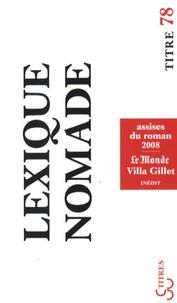 Hélène Cixous et Zeruya Shalev - Lexique nomade - Assises du roman 2008.