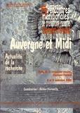 Hélène Dartevelle - Auvergne et Midi - 5e rencontres méridionales de préhistoire récente, Clermont-Ferrand, 8 et 9 novembre 2002.
