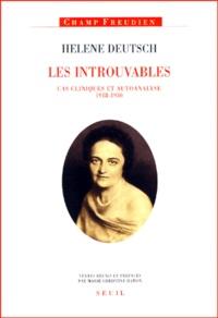 Helene Deutsch et Marie-Christine Hamon - .