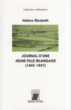Hélène Elisabeth - Journal d'une jeune fille irlandaise (1845-1847).