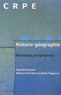 Ucareoutplacement.be Histoire-Géographie CRPE - Nouveau programme Image