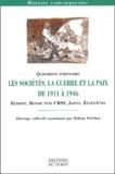 Hélène Fréchet et François Boulet - Les sociétés, la guerre et la paix de 1911 à 1946 - Europe, Russie puis URSS, Japon, Etats-Unis.