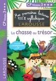 Hélène Heffner et Giulia Levallois - 1ères lectures 100% syllabiques - La chasse au trésor.