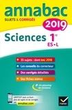 Hélène Hervé et Sonia Madani - Sciences 1re ES, L - Sujets et corrigés.