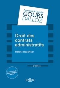 Hélène Hoepffner - Droit des contrats administratifs - 2e éd..
