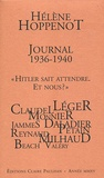"""Hélène Hoppenot - Journal 1936-1940 - """"Hitler sait attendre. Et nous ?""""."""