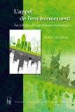 Hélène Houdayer - L'appel de l'environnement - Sociologie des pratiques écologiques.