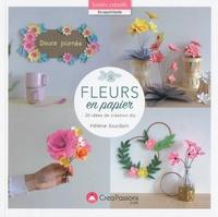 Hélène Jourdain - Fleurs en papier - 20 idées de création diy.