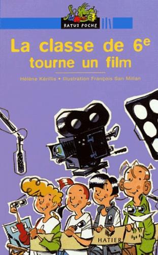 Hélène Kérillis - La classe de 6e tourne un film.