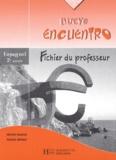 Hélène Knafou et Nadine Offroy - Espagnol 2è année Nuevo encuentro - Fichier du professeur.