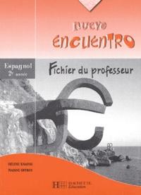 Accentsonline.fr Espagnol 2è année Nuevo encuentro - Fichier du professeur Image