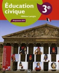 Hélène Lampin et Jacques Faux - Education civique 3e - Manuel élève.