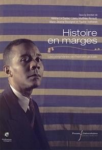 Hélène Le Dantec-Lowry et Matthieu Renault - Histoire en marges - Les périphéries de l'histoire globale.