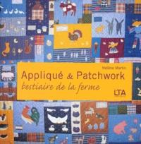 Galabria.be Appliqué et Patchwork - Bestiaire de la ferme, grands et petits quilts Image
