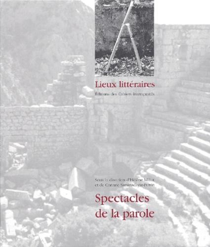 Hélène Millot et Corinne Saminadayar-Perrin - Spectacles de la parole.