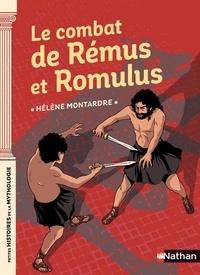 Hélène Montardre - Le combat de Rémus et Romulus.