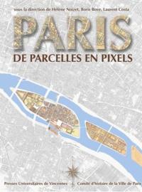 Hélène Noizet et Boris Bove - Paris, de parcelles en pixels - Analyse géomatique de l'espace parisien médiéval et moderne.