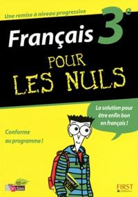 Français 3e pour les nuls - Hélène Papiernik |