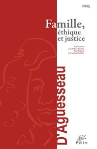 Hélène Pauliat et Eric Négron - Famille, éthique et justice.