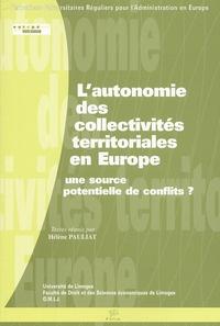 Lautonomie des collectivités territoriales en Europe : une source potentielle de conflits ?.pdf