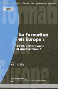 Rhonealpesinfo.fr La formation en Europe : entre performance et concurrence ? Image