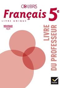 Ucareoutplacement.be Français 5e Colibris - Livre du professeur Image