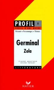 germinal 1885 Émile zola résumé hélène potelet claude