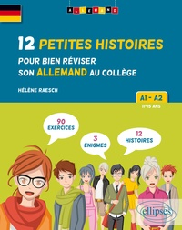 Allemand A1-A2 - 12 petites histoires pour bien réviser son allemand au collège.pdf