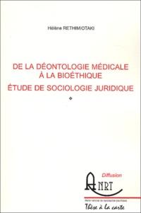 Costituentedelleidee.it De la déontologie médicale à la bioéthique - Etude de sociologie juridique Image