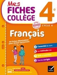 Hélène Ricard et Matthieu Verrier - Mes fiches collège Français 4e.
