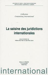 Hélène Ruiz Fabri et Jean-Marc Sorel - La saisine des juridictions internationales.