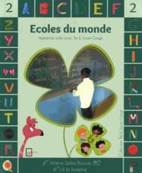 Hélène Selles Bourdu et  Lili la Baleine - Ecoles du monde.
