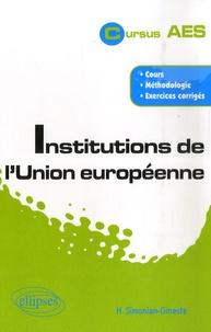 Hélène Simonian-Gineste - Institutions de l'Union européenne.