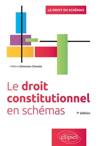 Hélène Simonian-Gineste - Le droit constitutionnel en schémas.