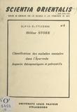 Hélène Stork - Classification des maladies mentales dans l'Āyurveda : aspects thérapeutiques et préventifs - Table ronde sur l'apport des médecines asiatiques à la médecine universelle, Strasbourg, 21-23 mai 1976.