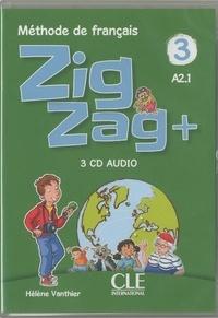 Hélène Vanthier - Zigzag plus niveau 3 - CD audio collectifs.