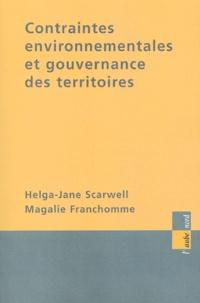 Helga-Jane Scarwell et Magalie Franchomme - Contraintes environnementales et gouvernance des territoires.