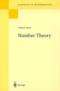 Helmut Hasse - Number Theory.