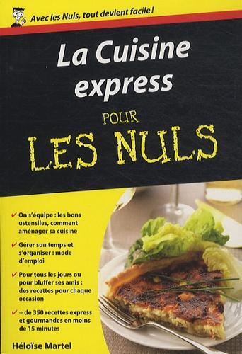 La cuisine express pour les nuls