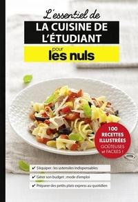 Héloïse Martel - Les essentiels de la cuisine de l'étudiant pour les nuls.