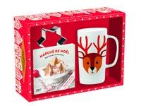 Héloïse Martel et Elsa Fouquier - Marché de Noël - Avec 1 mug, 2 emporte-pièce et 1 livre de recettes.