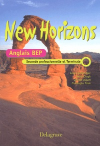 Deedr.fr Anglais 2nde professionnelle et Terminale BEP New Horizons Image